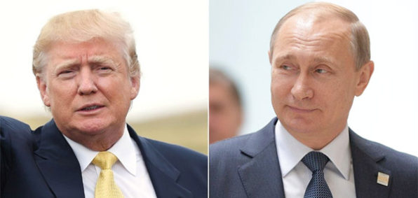 Donald Trump and Russian President Vladimir Putin (Photo: Twitter)