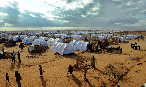 Somali refugees arrive in the U.S. at a rate of more than 800 per month, filing into more than 300 U.S. cities and towns from U.N. refugee camps such as this one in Dadaab, Kenya.