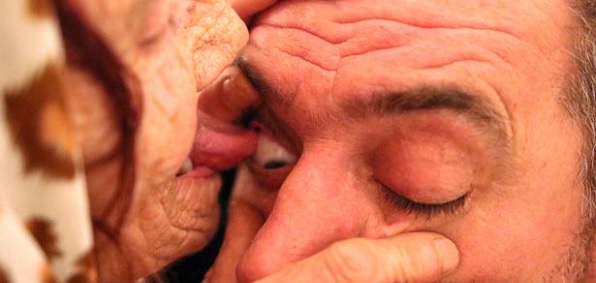 80 Year Old Woman Cures Blindness By Licking Eyeballs