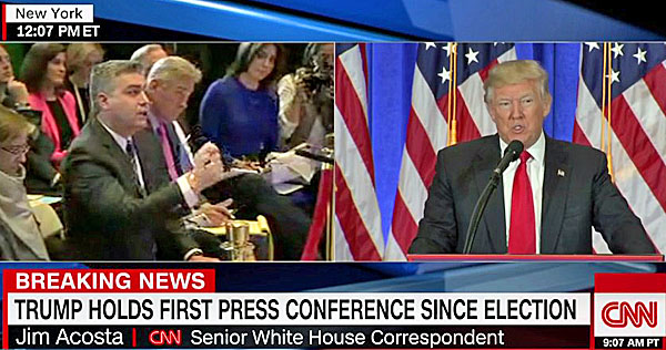 Trump Demands Journos to Respect White House After Revoking Acosta's Press Pass
