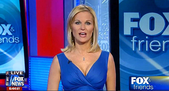 Juliet Huddy, formerly of Fox News