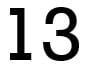 number-13