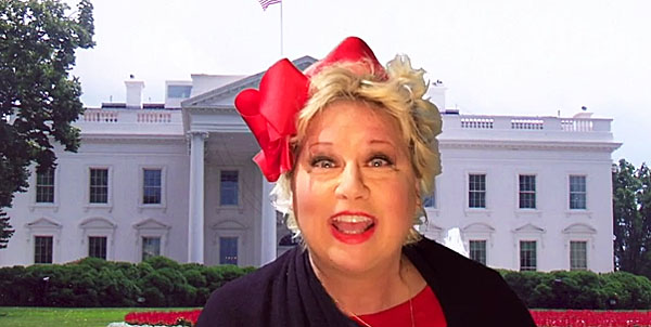 "Former ""Saturday Night Live"" star Victoria Jackson sings ""There's a Capitalist Living in the White House"""