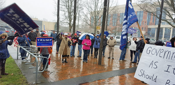 Feb. 27, 2017, Spirit of America rally in Bellingham, Washington (Photo: Eric Bostrom)
