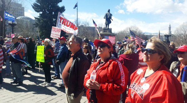 Feb. 27, 2017, Spirit of America rally in Denver, Colorado (Photo: Twitter)