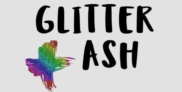 Glitter ash