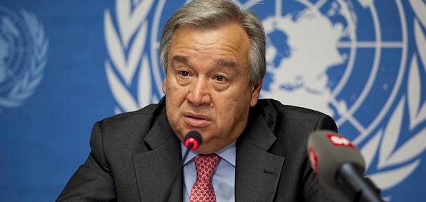 U.N. Secretary General Antonio Guterres, who took office Jan. 1, wants to end 'Islamophobia,' which he says is a main cause of terrorism.
