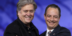 Steve Bannon and Reince Pirebus