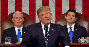 President Trump delivers State of the Union address to a joint session of Congress