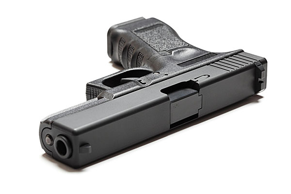 9mm semi-automatic pistol gun