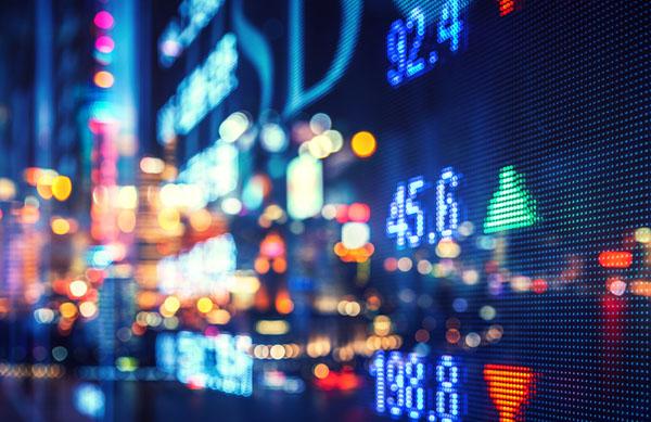 Dow falls 100 in volatile session