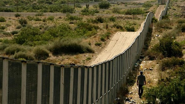 U.S. border with Mexico stretches more than 1,950 miles, much of it unpatrolled.