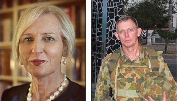 Transgender cricket player Catherine McGregor (left), born a male, transitioned from Malcolm (right) in 2012