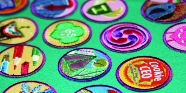 Girl Scouts badges