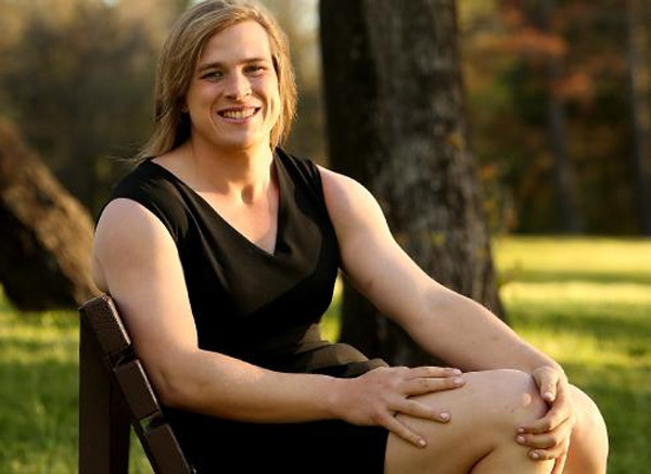 Transgender handball player Hannah Mouncey