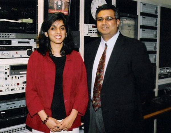 Muzzammil Syed Hassan, 44, and his wife, Aasiya Hassan, 37, founded Bridges TV in November 2004.