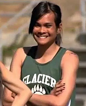 High-school runner Nattaphon Wangyot, 18, born a male, participated in the Class 3A girls' sprints at the Alaska state meet in June 2016 and placed 3rd in the 200-meter dash (27.3 seconds) and 5th in the 100-meter dash (13.36 seconds) (Photo: screenshot)