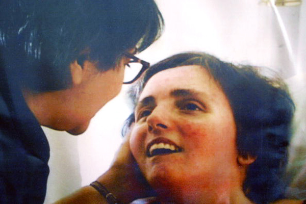 Mary Schindler and her daughter Terri Schiavo