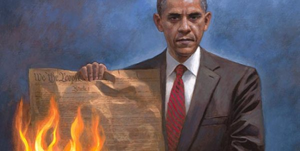 """One Nation Under Socialism"" – Jon McNaughton"