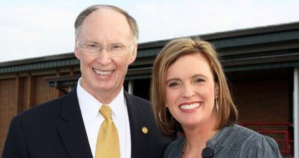 Former Alabama Gov. Robert Bentley, a Republican, has announced his resignation Monday amid allegations that he used his office to facilitate and hide evidence of his affair with adviser Rebekah Caldwell Mason (Photo: Twitter)