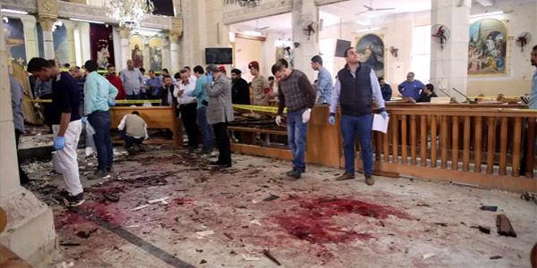 ISIS says it carried out bombings at churches in Egypt that killed dozens on Palm Sunday