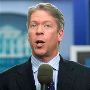 CBS News White House reporter Major Garrett