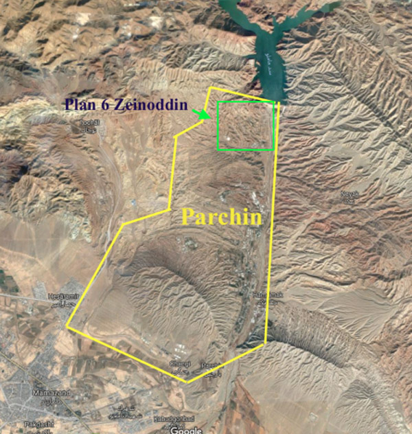 NCRI claims satellite images of the military base at Parchin show Iran is weaponizing nukes