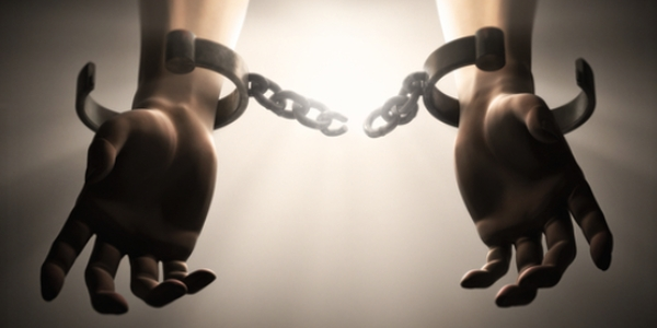 breaking handcuffs
