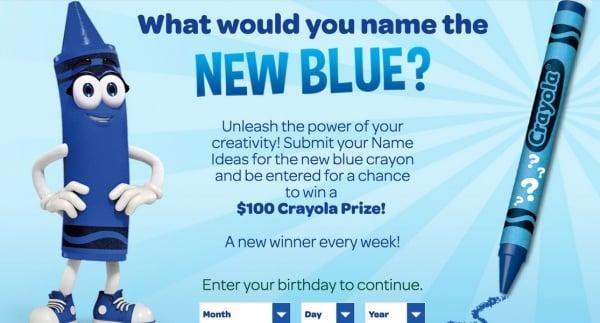 Crayon contest