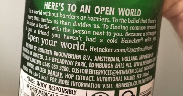 Heineken borderless world ad campaign
