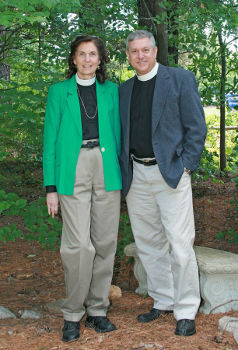 The Rev. Jim Melnyk with wife Lorraine are both priests in the Episcopal Church.