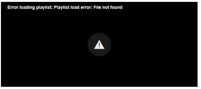 Error message for all of WND's Planned Parenthood videos on Friday