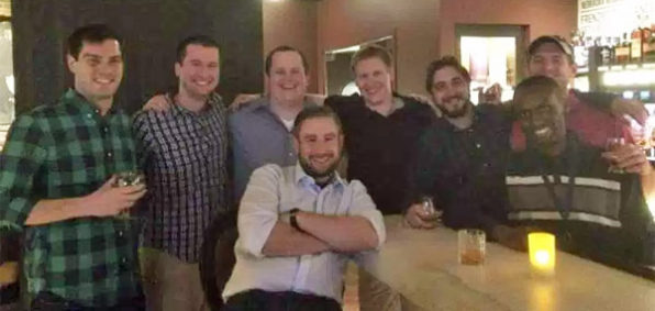 Seth Rich (middle) with friends (Photo: Facebook)