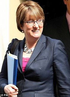 Former British Home Secretary Jacqui Smith