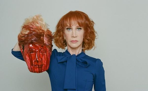 Kathy Griffin's stunt with mock beheading