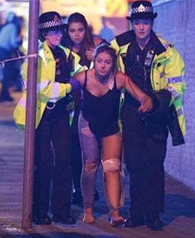 Victim of Manchester, England, terror attack May 22, 2017