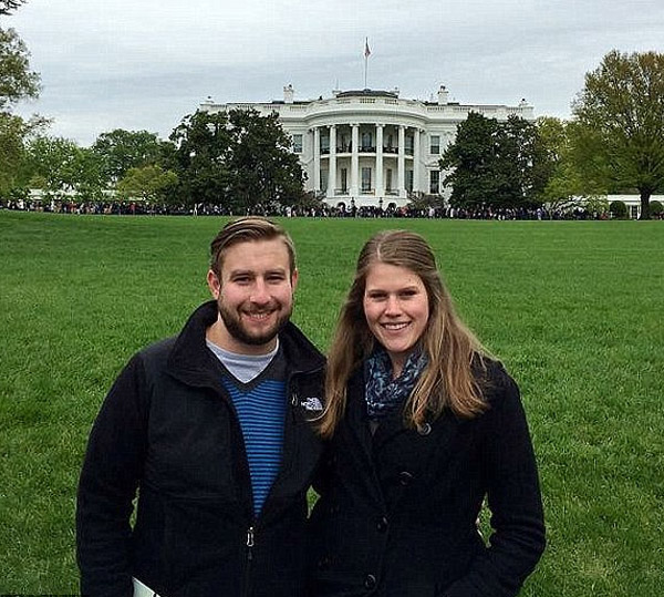 DNC staffer Seth Rch was on the phone with his girlfriend when he was shot (Photo: Joel Rich)