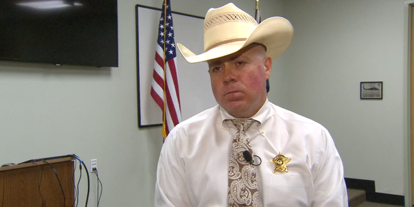Denton County, Texas, Sheriff Tracy Murphree (KDFW-TV, Dallas-Fort Worth)