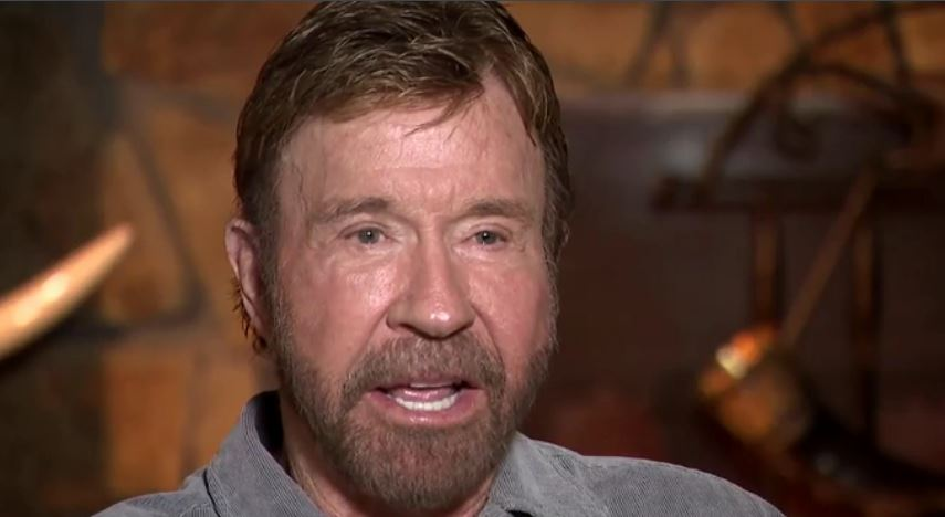 Stunning attack that left Chuck Norris feeling 'helpless'