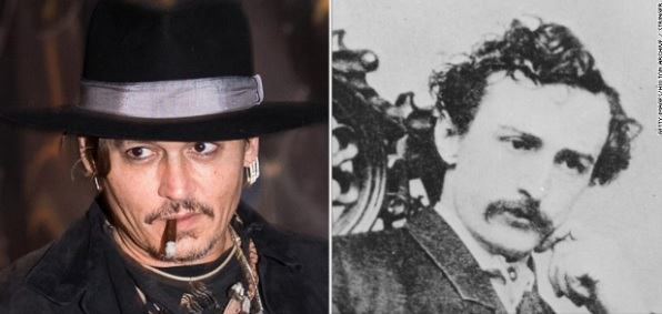 "Actor Johnny Depp forced to apologize for referencing Lincoln assassin John Wilkes Booth in ""joke"" about President Trump"