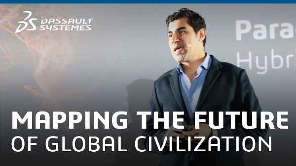 Parag Khanna is considered an authority on globalization and talks about 'mapping the future of civilization.'