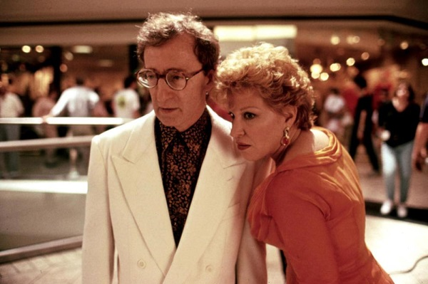 SCENES FROM A MALL, Woody Allen, Bette Midler, 1991