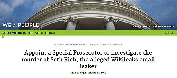 Seth-Rich-WH-petition