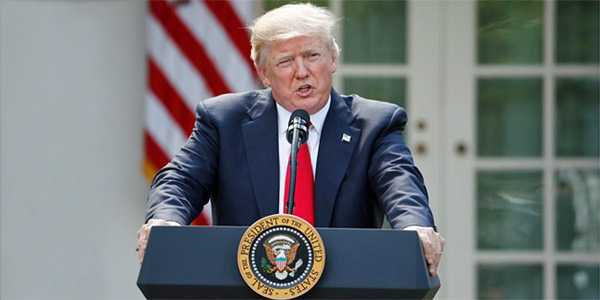 President Trump pulls America out of Paris Climate Agreement