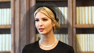 VATICAN CITY, VATICAN - MAY 24: Ivanka Trump attends an audience with Pope Francis at the Apostolic Palace on May 24, 2017 in Vatican City, Vatican. The President Trump will return on Italy on Friday attending the Group of 7 Summit in Sicily. (Photo by Vatican Pool)