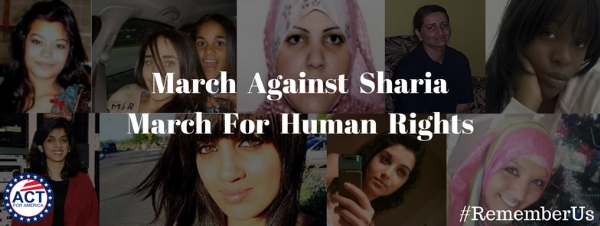 march against shariah