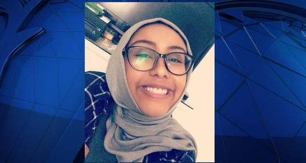 Memorial for Nabra Hassanen set on fire in Washington, DC
