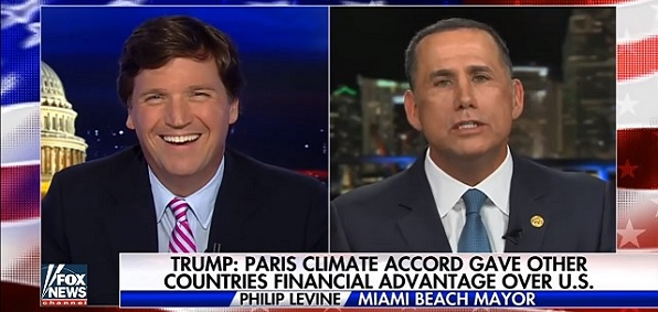 Tucker Carlson interviews Miami mayor Philip Levine