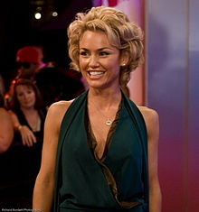Actress and model Kelly Carlson