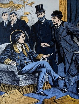 Arrest of Oscar Wilde at the Cadogan Hotel (Courtesy of the Artists, for The Art Newspaper)